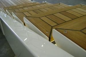 detail side boarding ladder Hydromar