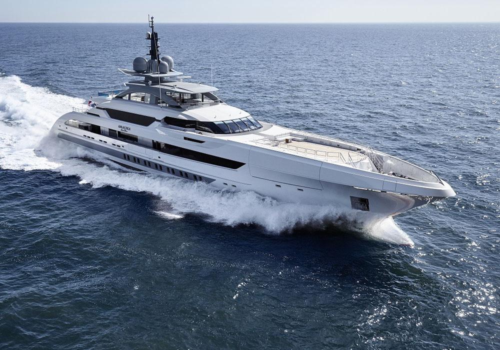 superacht Galactica Super Nova build by Heesen yachts