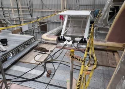 Bathing platform and bridges M/Y White Rabbit