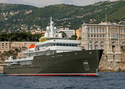 superyacht Yersin - Hydromar Marine Equipment