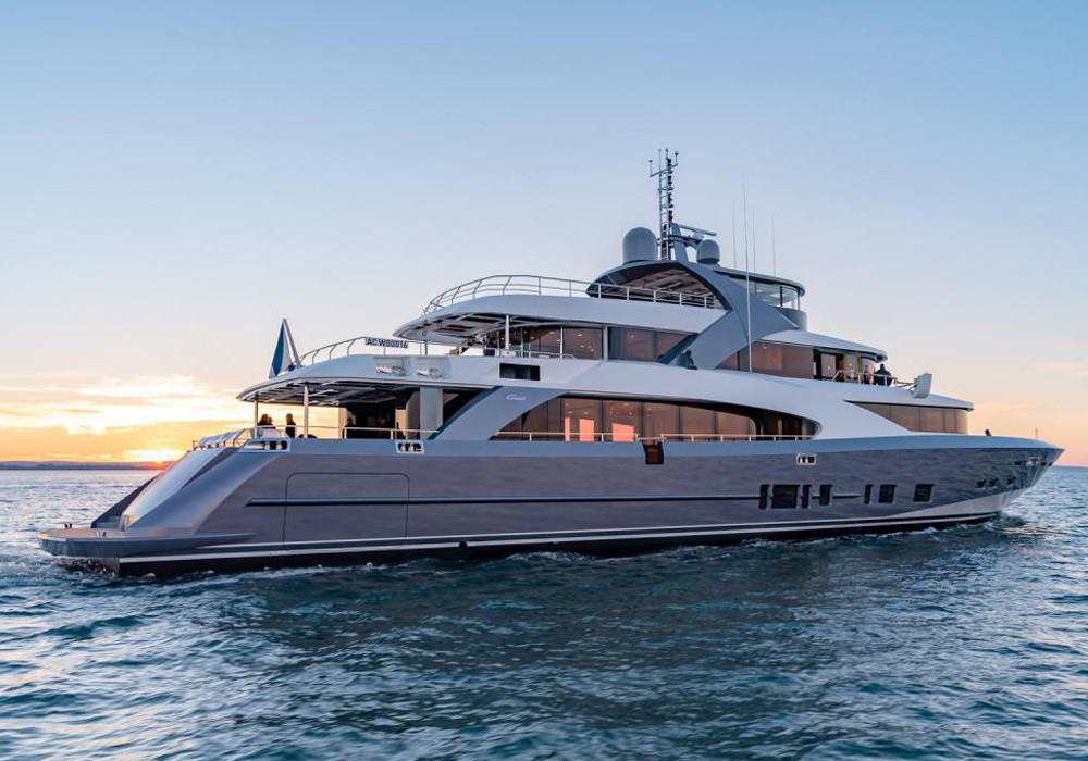superyacht Tosca - Hydromar Marine Equipment