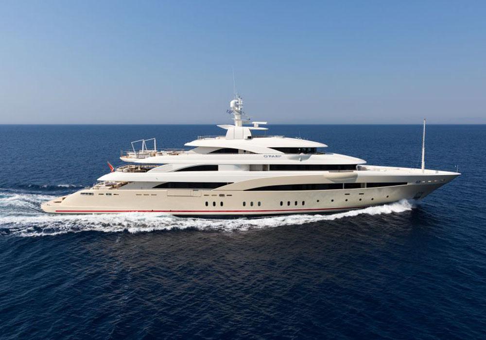 superyacht Natalina A