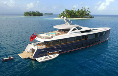 superyacht Delta One - Hydromar gangway - product serie 500