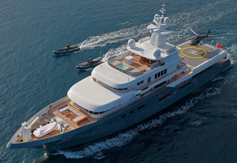 HME - MY Planet Nine build by Admiral Yachts