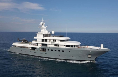 superyacht Planet Nine