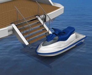 Product serie 600 Seascape bathing platform