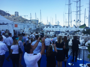 MYS2018 end of the show with the traditional horns