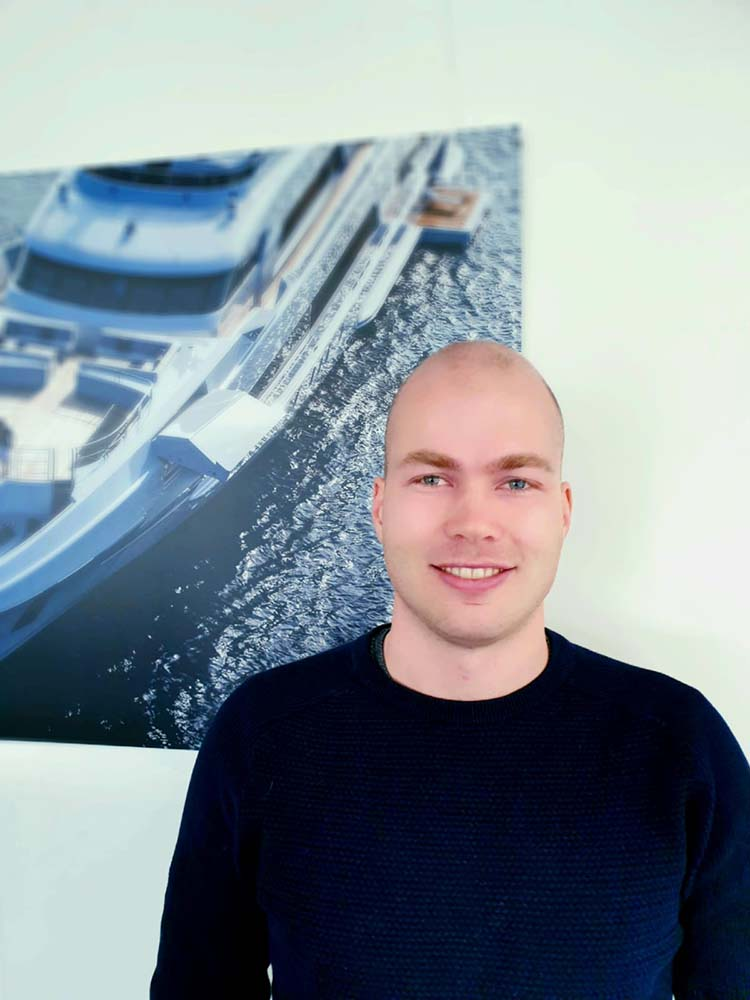 Meet the Hydromar team: Jelmer Klijnstra