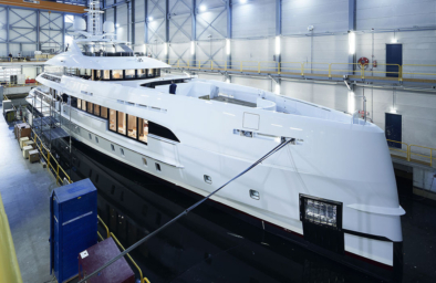 MY Electra of Heesen Yachts with Hydromar equipment